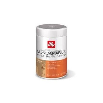 Illy Monoarabica Ethiopia Whole Bean Coffee, Orange Band, 6 Count