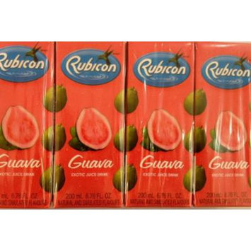 Rubicon Guava Exotic Juice Drink 200ml (Pack of 4)