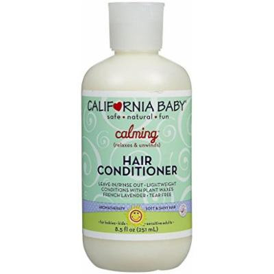 California Baby CALMING CONDITIONER 8.5 oz Relaxes & Unwinds! TEAR FREE