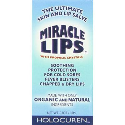 Fight Cold Sores & Cracked, Dry lips w/Propolis Salve & Serum: Miracle Lips
