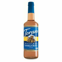 Torani Sugar Free Vanilla Bean Syrup (1 Single 750 ml bottle)
