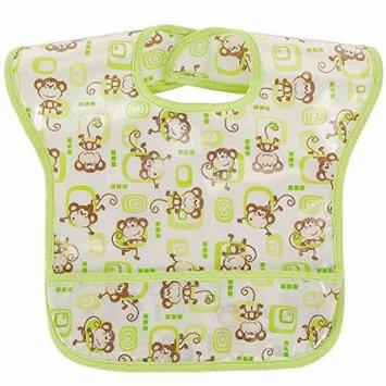 Koala Baby Boy Easy Wipe Bib - Monkey