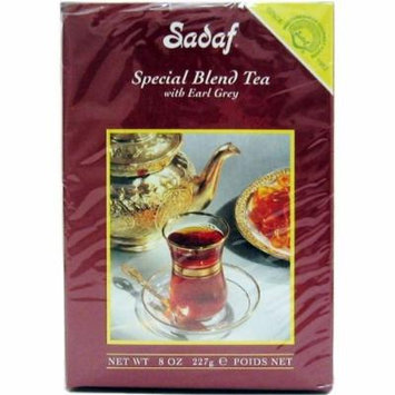 Sadaf Special Blend Tea EG, 8-Ounce (Pack of 4)