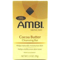 Ambi Fade Soap Cocoa Butter 3.5 oz. (3-Pack) with Free Nail File