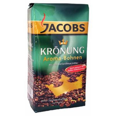 Jacob's Coffee Jacobs Kronung Whole Bean, 17.6-Ounce (Pack of 3)