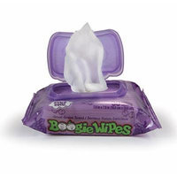 Boogie Wipes Natural Saline Kids and Baby Nose Wipes for Cold and Flu, Grape Scent, 30 Count (Pack of 12)