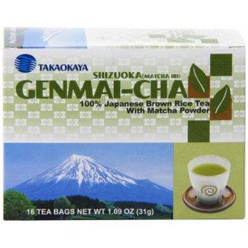 Imported Shizuoka Matcha Genmai Tea Bag, 1.09 Ounce