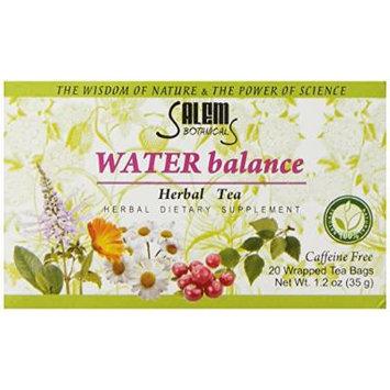 Salem Botanicals Herbal Tea, Water Balance, 20 Count