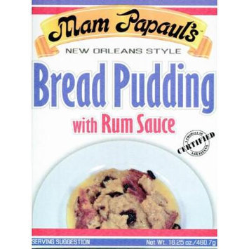 Mam Papaul's Bread Pudding with Rum Sauce (3 pack)