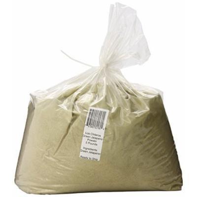 Los Chileros Powder, Green Jalapeno, 5 Pound