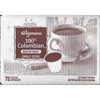 Wegmans Single Serve Coffee Capsules Case of 72 (100% Colombian)