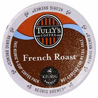 Tully's Coffee French Roast Caffeinated Coffee for Keurig Brewing Systems, 160 K-cups