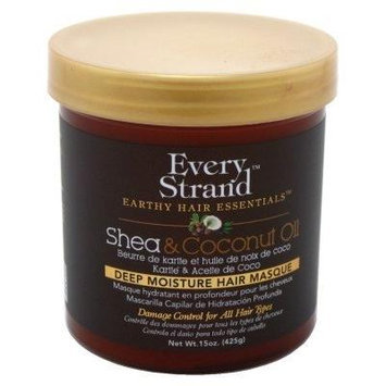 Every Strand Shea And Coconut Oil Deep Hair Masque 15oz Jar (2 Pack)