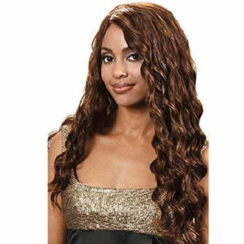 BOBBI BOSS IndiRemi Virgin Remi Hair - CURLY CLOSURE - 4 LIGHT BROWN