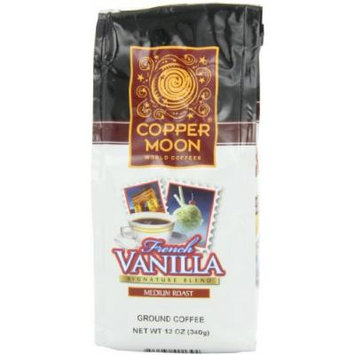 Copper Moon French Vanilla Coffee, Ground, 12-Ounce Bags (Pack of 3)