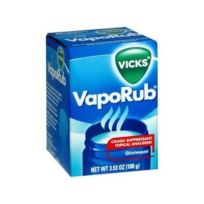 Special pack of 5 VICKS VAPORUB 3.53 oz