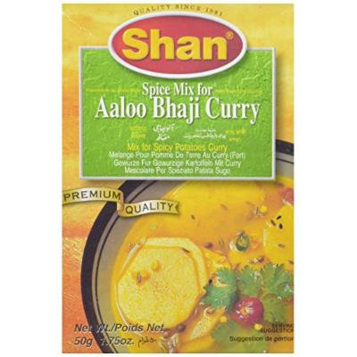 Shan Spice Mix for Aaloo Bhaji Curry, 1.75 Ounce