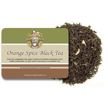 Orange Spice Naturally Flavored Black Tea - Loose Leaf - 16oz