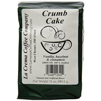 La Crema Coffee Crumb Cake, 12-Ounce Packages (Pack of 2)