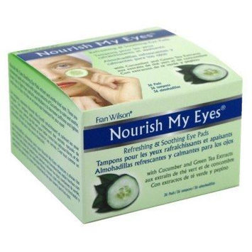 Fran Wilson Nourish My Eyes Cucumber Eye Pads (Pack of 6)