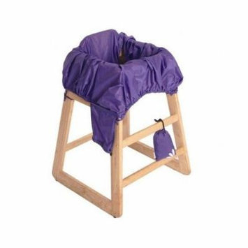 Baby Shopping Cart Seat Cover High Chair Combo Purple
