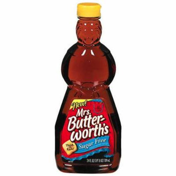 Mrs. Butterworth's Sugar Free Syrup, 24 oz (Pack of 6)