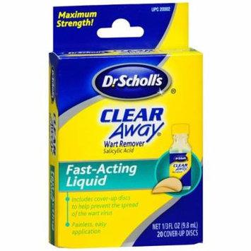 Dr. Scholl's Clear Away Liquid Wart Remover System 0.33 fl oz (9.8 ml)