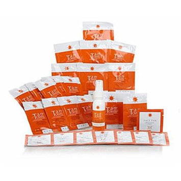 TanTowel Sunless Tanning 27 piece Kit Application for Face & Body