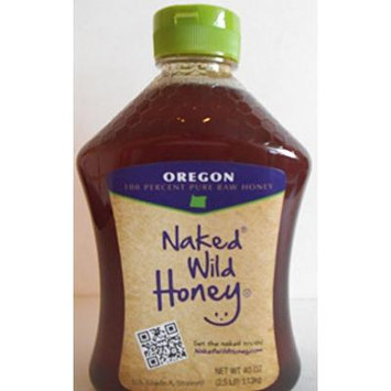 Oregon Naked Wild Raw Honey 40oz