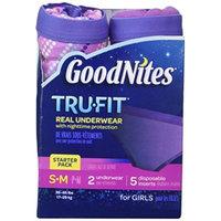 Huggies Goodnites Trufit Underwear for Girls, Starter Pack Size S-m