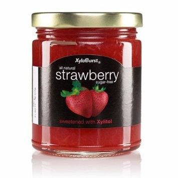 Strawberry Fruit Jam XyloBurst 10 oz Glass Jar