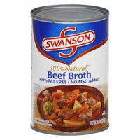 SWANSON BEEF BROTH 100% NATURAL 14.5 OZ