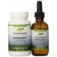 Native Remedies SAD Soother and MindSoothe ComboPack