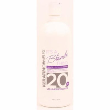 Coppola Keratin Complex - It's a Blonde Thing 20 Volume Developer 32oz