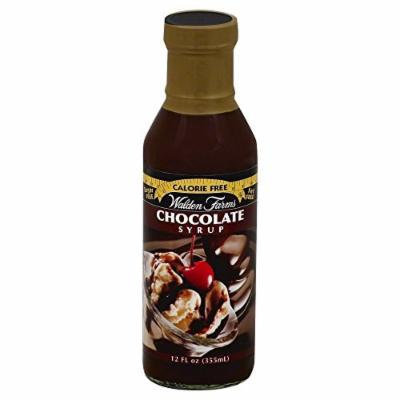Walden Farms Calorie Free Chocolate Syrup 12 Oz (Pack of 6)