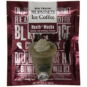 Big Train Blended Ice Coffee, Heath Mocha, 2.8-Ounce Bags (Pack of 25)