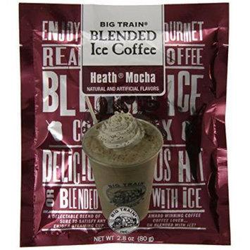 Big Train Blended Ice Coffee, Heath Mocha, 2.8-Ounce Bags (Pack of 25)