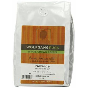 Wolfgang Puck Coffee Provence French Roast Ground Bulk Coffee, 2-Pounds