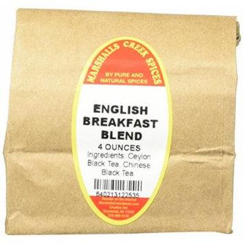 Marshalls Creek Spices Loose Leaf Tea, English Breakfast Blend, 4 Ounce
