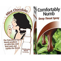 Pipedream Comfortably Numb Deep Throat Spray [Chocolate Mint] Specially Formulated to Reduce the Discomfort Associated with Oral Sex. : Size 1 Fl Oz / 29 Ml.