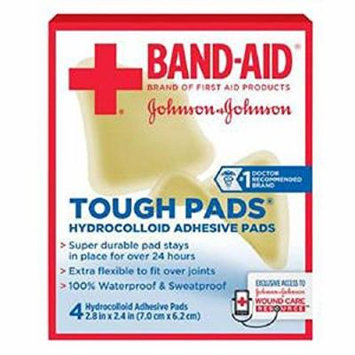 Alimed Band-aid First Aid Tough Pads Hydrocolloid Adhesive Pad 2-4/5
