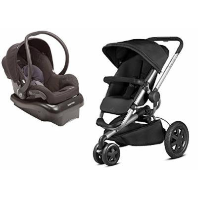 Quinny 2015 Buzz Xtra 2.0 Stroller with Maxi-Cosi Mico Nxt Infant Car Seat, Black