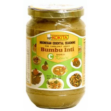 Kokita Indonesian Essential Seasoning Mix C - Bumbu Inti For Candlenut Dishes, 12.3-Ounce Jars (Pack of 3)