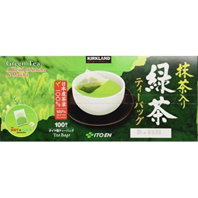 Kirkland Signature Ito En Matcha Blend (Green Tea), 100% Japanese Green Tea 100 count (Pack of 2)