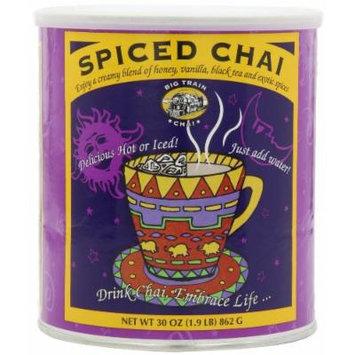 Big Train Spiced Chai Tea Latte Mix 1.9 Lb Can