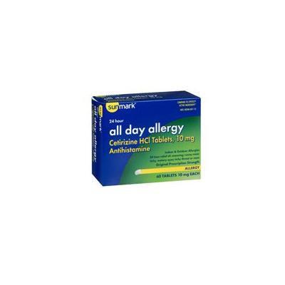 Sunmark All Day Allergy, 60 tabs by Sunmark