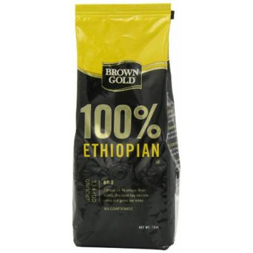 Brown Gold 100% Ethiopian Coffee, 12-ounce bag