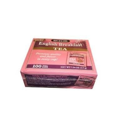 Bigelow English Breakfast Tea 100 Tea Bags (Pack of 2)