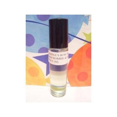 Men Premium Quality Fagrance Body Oil Roll on Rollerball - similar to Abercrombie & Fitch Fierce