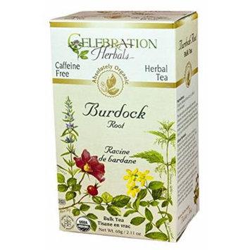 Celebration Herbals Organic Herbal Burdock Root Cut and Sifted Tea -- 3.41 oz